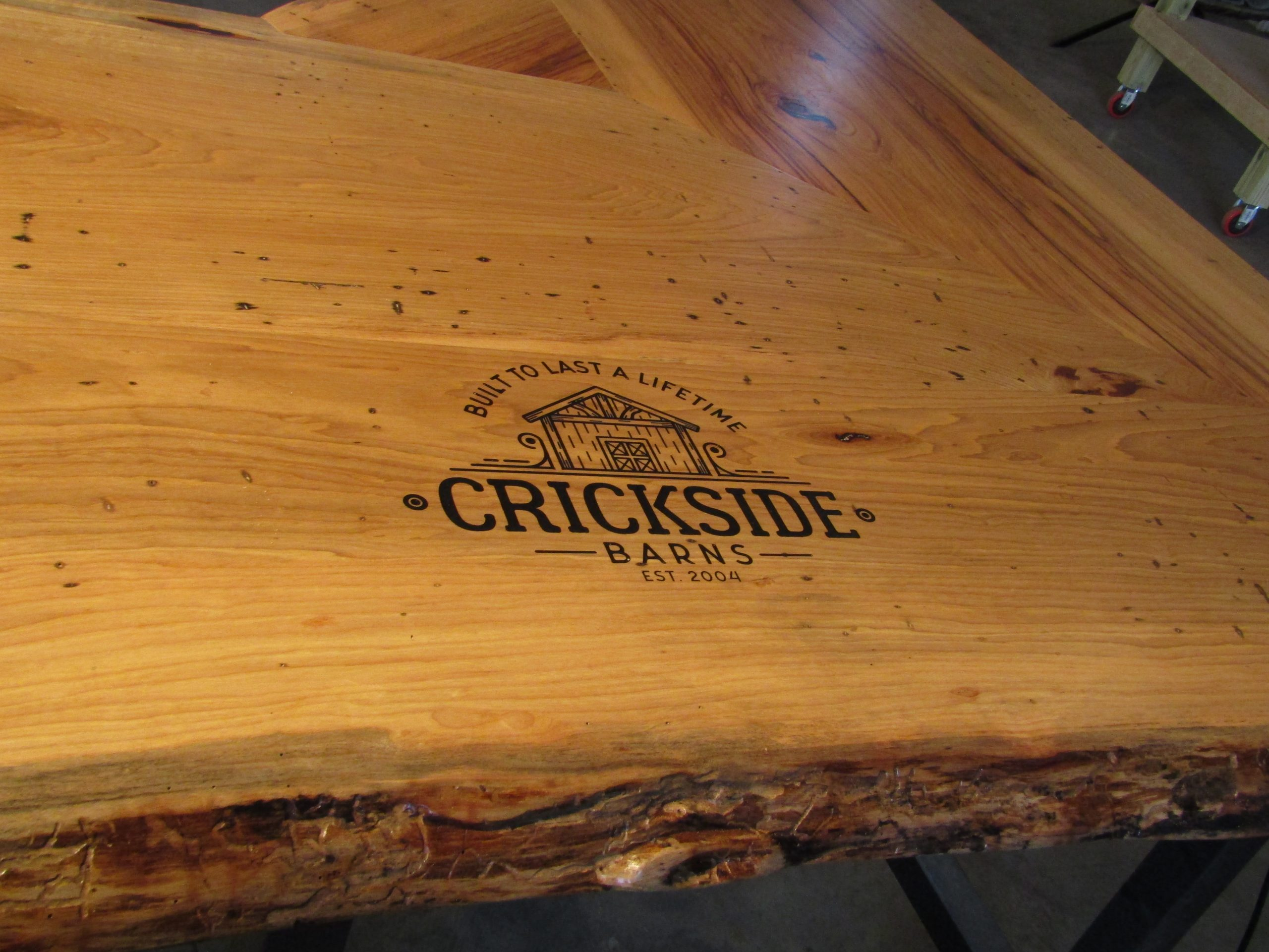 custom piece for crickside barns