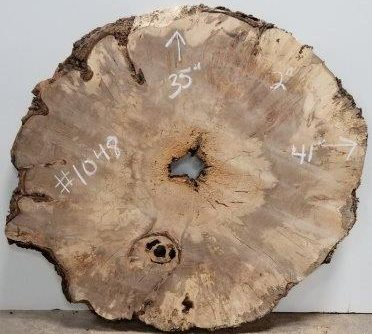 burly spalted maple cookie cut
