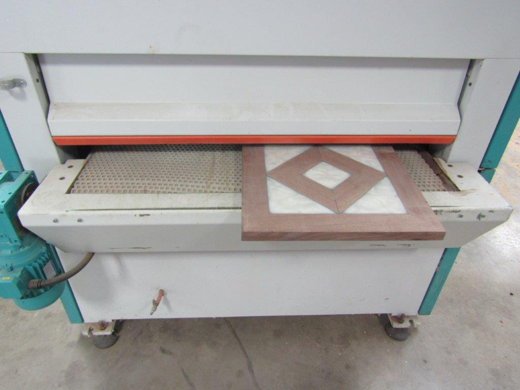 close up of drying oven